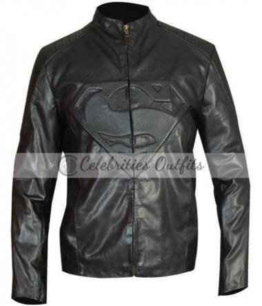 superman-smallville-black-leather-jacket
