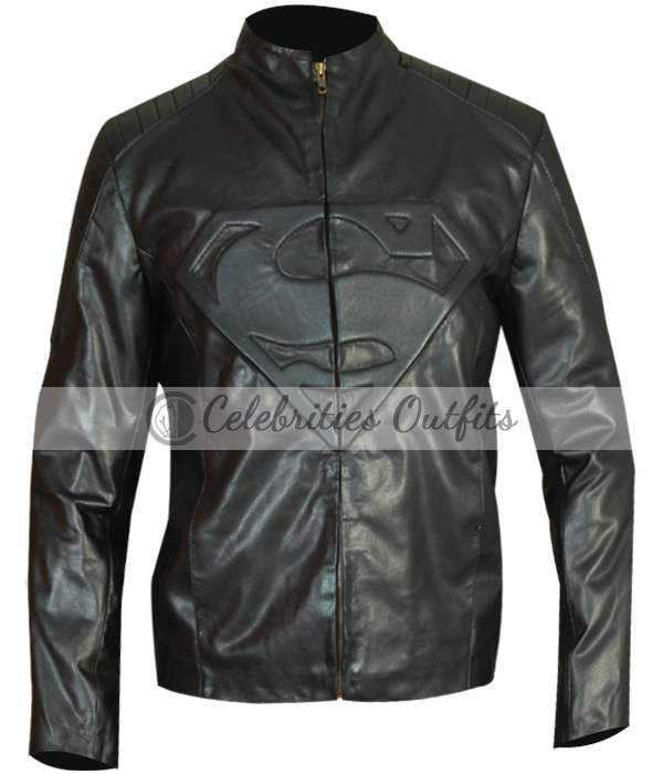 superman-smallville-black-leather-jacket