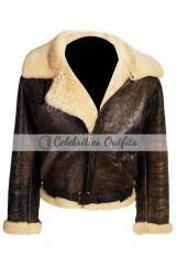 Rocky 4 Sylvester Stallone Balboa Shearling Winter Jacket