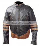 Wolverine X-Men Origins Biker Leather Jacket