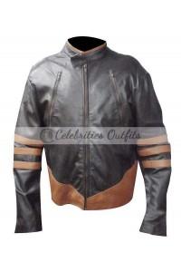 Wolverine X-Men Origins Biker Leather Jacket