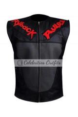Ryback Rules WWE Black Designer Leather Vest