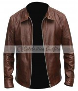 Michael Fassbender Eric X-Men First Class Leather Jacket
