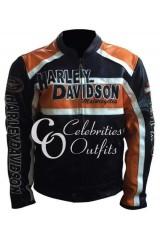 Harley Davidson New Design Black Motorcycle Leather Jacket