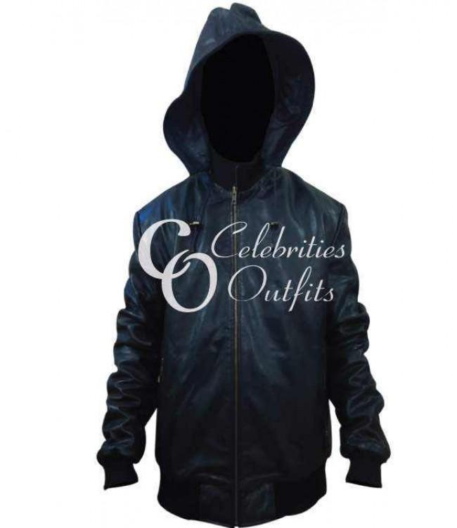 soprano-black-bomber-hooded-jacket