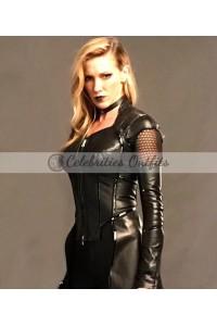 Arrow Katie Cassidy Black Siren Coat