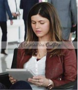 Alexandra Daddario San Andreas Movie Leather Jacket