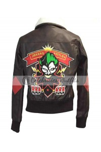 Bombshell Harley Quinn Cosplay Costume Leather Jacket