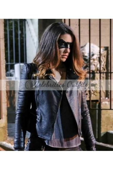 Arrow S6 Dinah Drake Black Canary Jacket