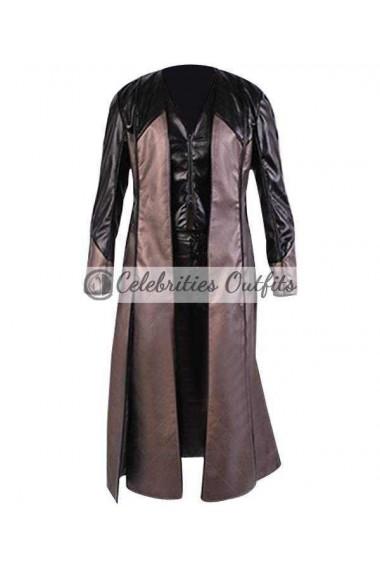 Claudia Black Officer Aeryn Sun Farscape Leather Coat
