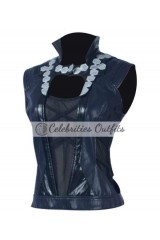 Gamora Guardians Of The Galaxy Leather Vest Jacket