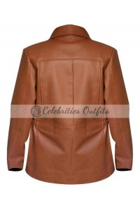Katniss Everdeen Hunger Games: Catching Fire Brown Jacket