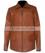 Katniss Everdeen Hunger Games: Catching Fire Brown Jacket