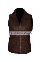 Shailene Woodley Insurgent Movie Leather Vest