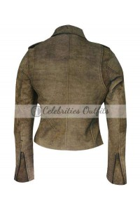 Fast And Furious 6 Michelle Rodriguez Distressed Jacket