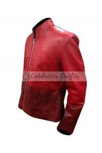 Elizabeth Olsen Avengers Age Of Ultron Scarlet Witch Red Jacket