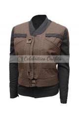 Jyn Erso Star Wars Story Rogue One Felicity Jacket