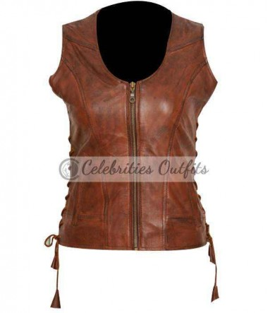 walking-dead-michonne-brown-vest-jacket