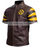 X-Men The Last Stand Hank Beast Brown Jacket