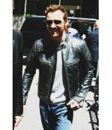 Michael Fassbender X-Men Apocalypse Quilted Leather Jacket