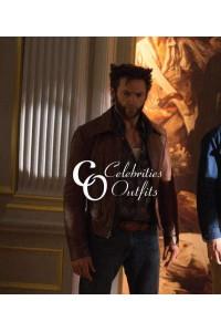 Hugh Jackman X-Men: Days of Future Past Leather Jacket