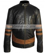 X-Men Wolverine Logans XO Biker Leather Jacket