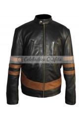 X-Men Wolverine Logans XO Biker Leather Jacket